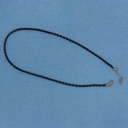 Halsband, svart...