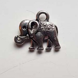 Elefantberlock liten 12x8x2mm