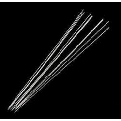 Nålar rostfritt stål, 5 st