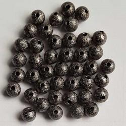 Stardust svart 6mm 20st