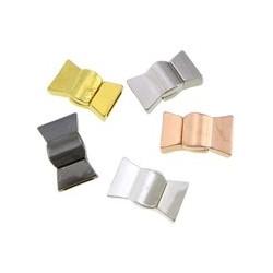 Bandavslut med taggar 9x2,5mm