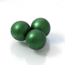 Tjeckiska vaxpärlor Grön...