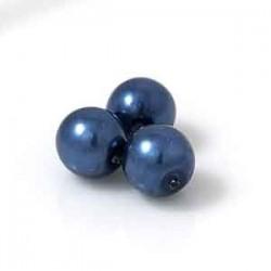 Tjeckiska vaxpärlor Blå...