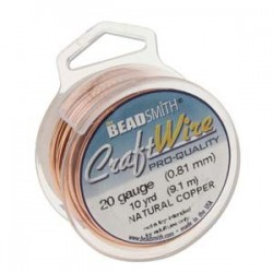 Craft wire natural copper...