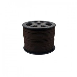 Faux Suede Cord 3mm brun