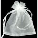 Smyckepåsar vita 5 st