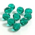 Firepolished 8mm Lt Emerald 20