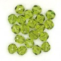 Firepolished 6mm, Olivine , 20st