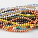 Cat eye pärlor 6mm olika färger